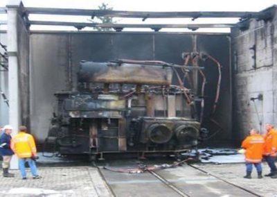 Transformatoren Explosionen